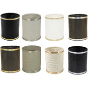 Capri Classic Round Wastebaskets - Choose Your Color(s)