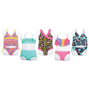 Toddler Girl's One-Piece, Two Piece & Tankini Swimsuits - Sizes 2-4T