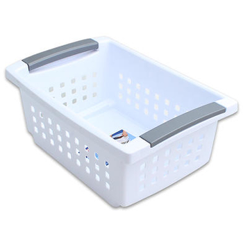 Sterilite White 5-3/8  Stackable Basket  sc 1 st  DollarDays & Wholesale Storage Baskets - Wholesale Bins - Cheap Containers ...