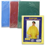 Adult Poncho with Hood