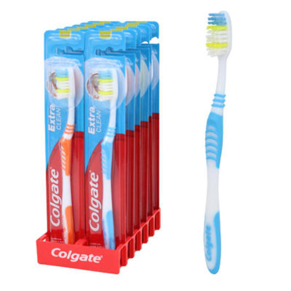 Wholesale Colgate Extra Clean Toothbrush Sku 2182651