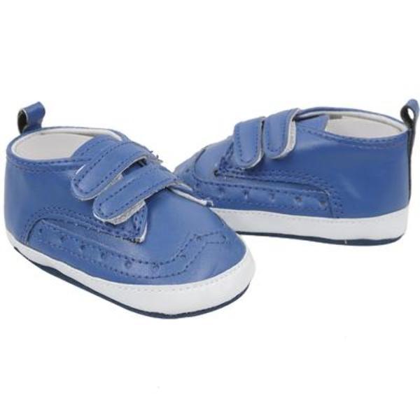ff25c816e Wholesale Cutie Pie Blue Faux Leather Baby Shoes (SKU 2321440 ...