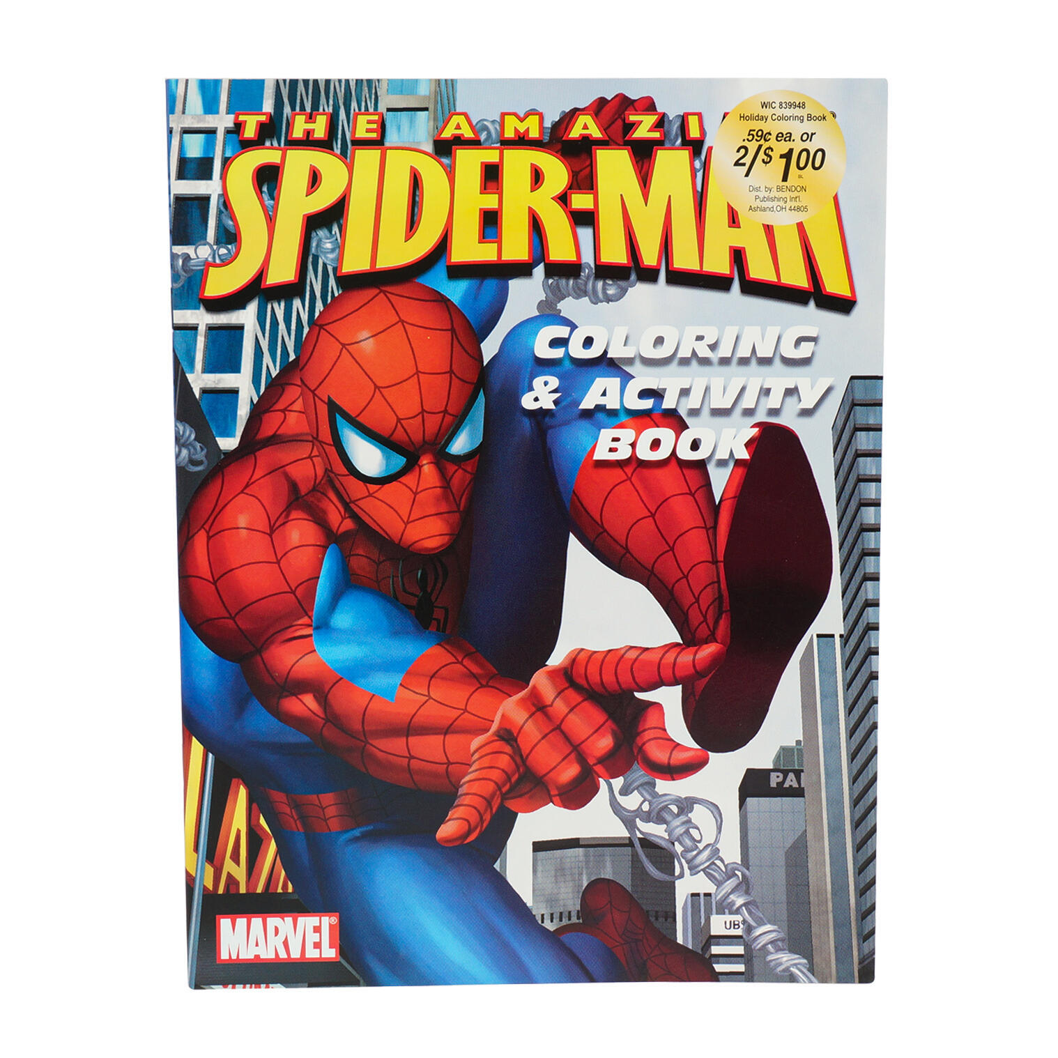 - Wholesale Spiderman Coloring And Activity Book (SKU 2346061