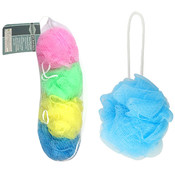 Scrubber Poofs 4 Piece Set