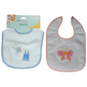 FamilyMaid Embroidered Baby Bibs