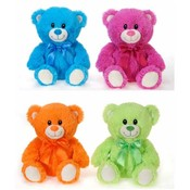 "8"" 4 Asst. BrigHang Tag Color Sitting Bears"