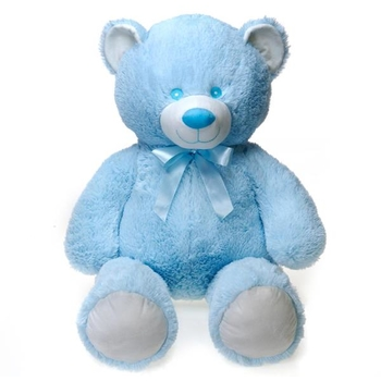 Wholesale teddy bears at discounted prices dollardays 39 baby blue cuddle bear with baby hang tag thecheapjerseys Choice Image