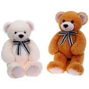 "26"" 2 Assorted Color Cuddle Bear W/ Ribbon"