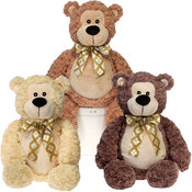 Assorted Fat Bears with Ribbon