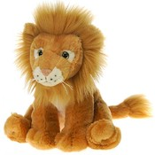 "10"" Sitting B/B Lion with Picture Hangtag"