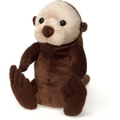 "Lil' Buddies - 9"" B/B Sitting Sea Otter"