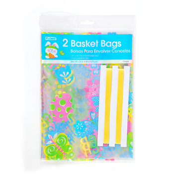 Wholesale 2 count easter cello basket bags sku 1878060 dollardays 2 count easter cello basket bags negle Choice Image