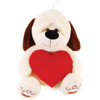 Wholesale Valentine Plush Dog Holding A Red Heart 15 75 Sku
