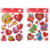 Embossed Foil Multi-Surface Stickers in 2 Assorted Designs