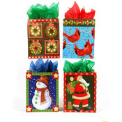 Holiday Magic on Matte Gift Bags [Large]