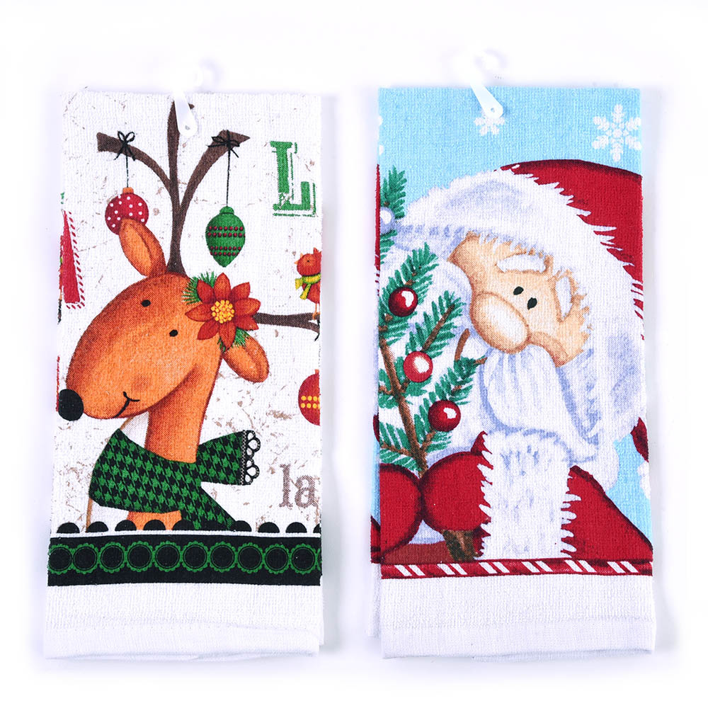 Christmas Kitchen Towels At Walmart: Wholesale Whimsical Christmas Kitchen Towels (SKU 2319915