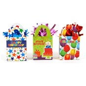 Mini Gift Bag Balloon Weight with Foil Shred