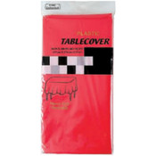 Red Rectangular Table Cover