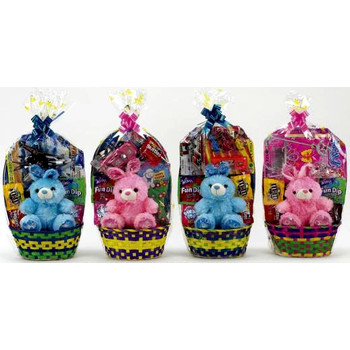 Wholesale easter decorations discount easter supplies bulk easter gift basket small assorted negle Images