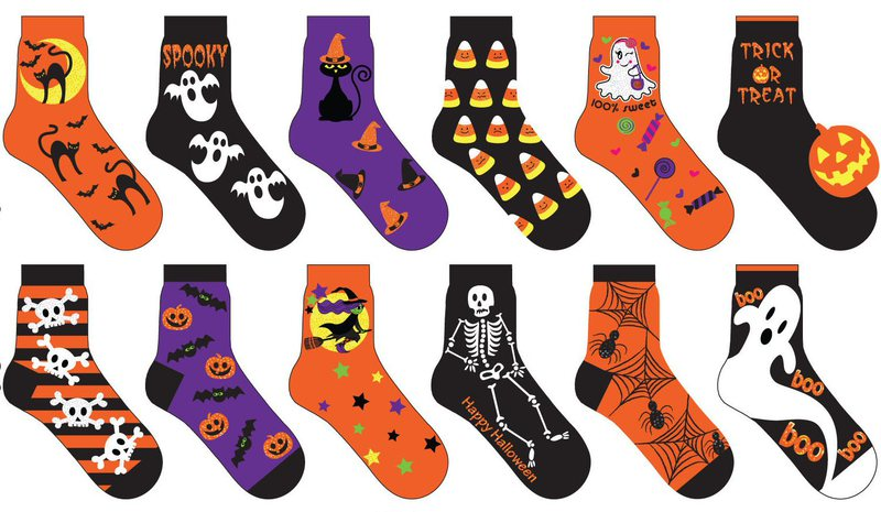 Wholesale Women S Halloween Socks Sku 326257 Dollardays