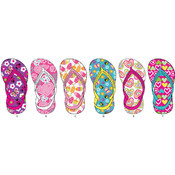 Toddler Girl's Assorted Flip Flops
