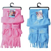 Wholesale Kids Winter Scarves - Wholesale Kids Winter Hats - Discount Kids Scarf, Hat and Glove Set
