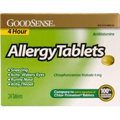 GoodSense® 4 Hour Allergy Tablets 24 Count