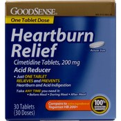 GoodSense® Heartburn Relief Cimetidine 200mg Tabs 30ct