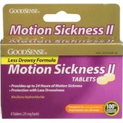 GoodSense® Motion Sickness II 8ct 18 Count