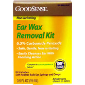 GoodSense® Ear Wax Remover Kit 0.5 oz. & Bulb