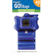 Sergeant's® GO! Bags Dispenser & Waste Bags