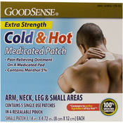 GoodSense® Cold And Hot Patch Small