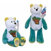 Wisconsin State Quarter Coin Plush Stuffed Bear