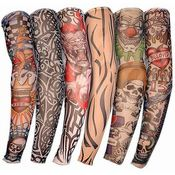 Temporary Fake Slip On Tattoo Arm Sleeve