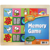 """Wonderfully Made"" Educational Wooden Memory Match"