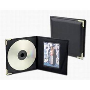 Single CD/Picture Holder with Silver Corners *Closeout*