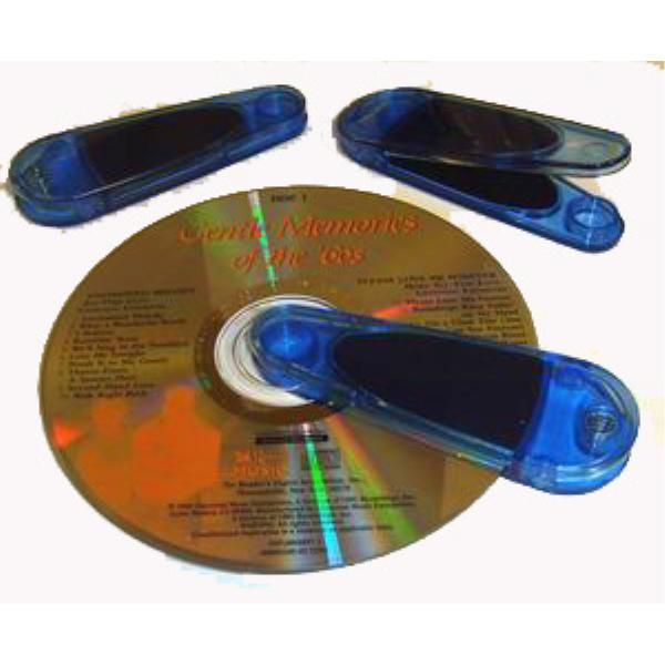 Plastic Translucent CD Cleaner *Closeout*