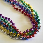 Round Bead Rainbow Colors