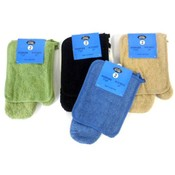 2 Piece Terry Oven Mitt and Pot Holder