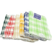 Cotton Waffle Weave - Dish Cloths 4 Pk. Assorted