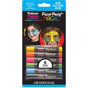 Face Paint Magic Crayons - Neon