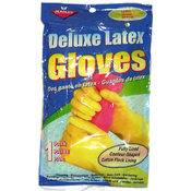 Latex Gloves, Size Large