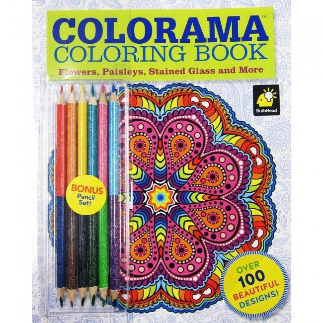Wholesale Colorama Adult Coloring Book (SKU 2314993 ...