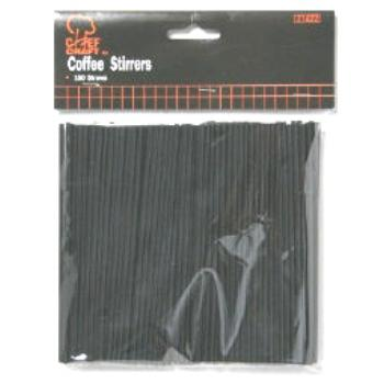 Wholesale Coffee Stirrer - 150 Count(24x$0.67) Sold in lots of 24 @ $0.67 each. 150 count per package 5.25  black skinny straws For: coffee or cocktails
