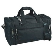600D Poly Medium Duffel Bag - Black