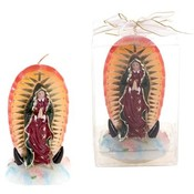 Lady Guadalupe Statue Candle in Gift Box