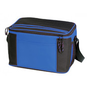 Deluxe 12 Pack Poly Cooler [Royal/Black] - Style #023
