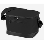 6 Pack Poly Cooler [Black] - Style #037