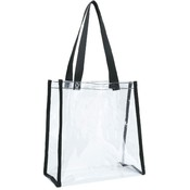 Clear Tote Bag [Clear/Black]