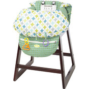 Nuby 2-in-1 Shopping Cart and High Chair Cover